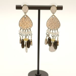 Chico's Industrial Beaded Earrings
